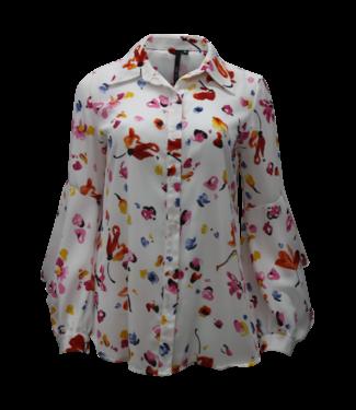 kay celine Watercolor print blouse
