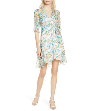 Ali & Jay Ali Floral Wrap Dress