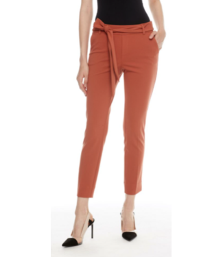 Tyler Madison Belted Spice Crop Trouser