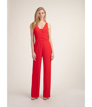 trina turk Hedy Red Jumpsuit with sash