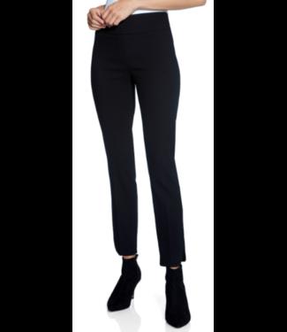 Up Black textured slim leg pant