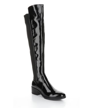 Bos & Co Tall black patent boot (waterproof)