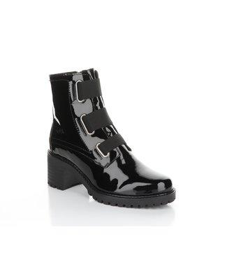 Bos & Co Black patent short boot (waterproof)