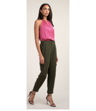 trina turk Barrier Island Pant Pea Color