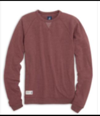 Johnnie O Pamlico maroon sweatshirt