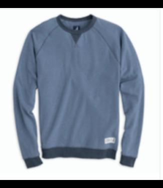 Johnnie O Pamlico blue sweatshirt