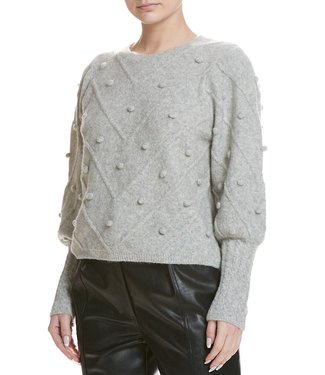 sen Crew neck with accents sweater