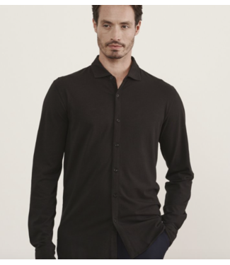 patrick assaraf Charcoal button down shirt