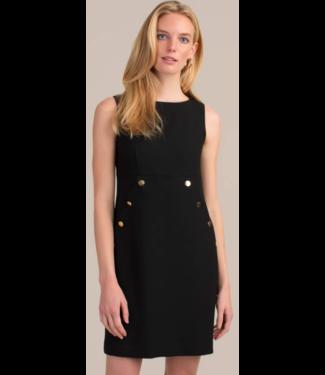 trina turk Black Gold Button Dress