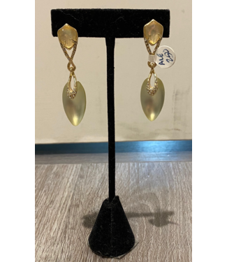 alexis bittar Lucite Post Drop Earring