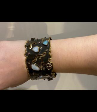 Sioro Jewelry Big multi stone bracelet