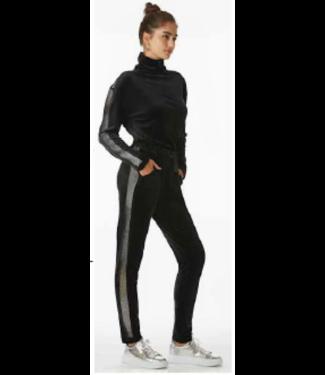 Juicy Couture Black Velour Jumpsuit