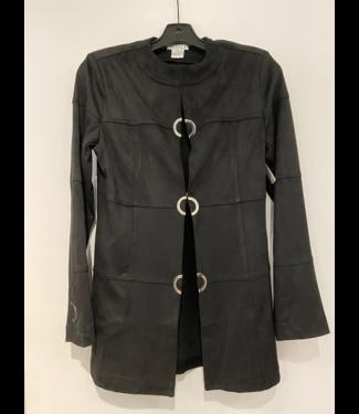 Oolala Ultra Suede Black Jacket