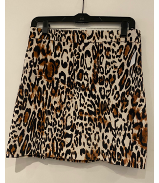 Milly Cheetah Skirt