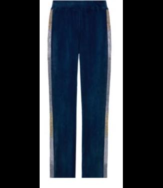 Juicy Couture Blue Velour Pant