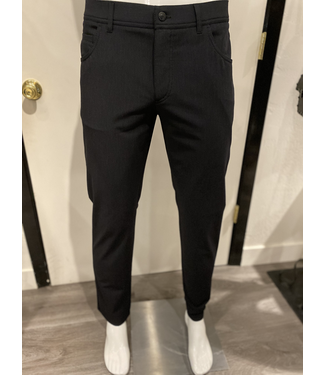 alberto Heather grey stretch flannel pant