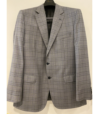 Grey Glen Plaid w/Purple Accent Sports Coat