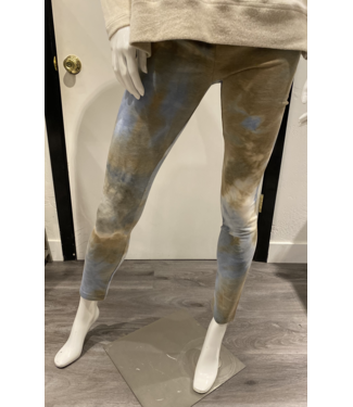 kay celine Blue Tie Dye Leggings