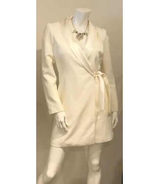 Milly Winter White Coat Dress