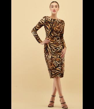 kay celine Cashmere feel animal dress