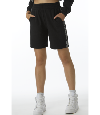 Juicy Couture black fleece shorts