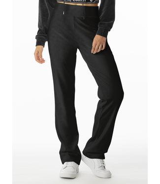 Juicy Couture black velour pant