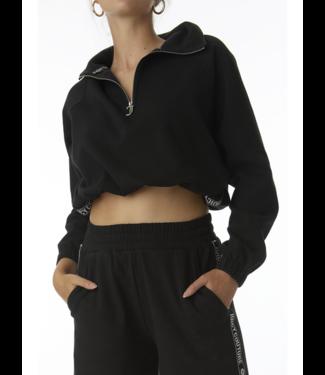 Juicy Couture Black Zip Sweatshirt