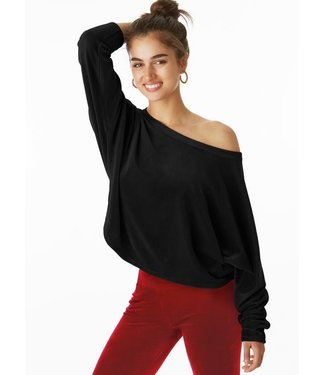 Juicy Couture Velour black pullover