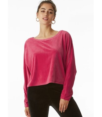 Juicy Couture Pink Velour Pullover