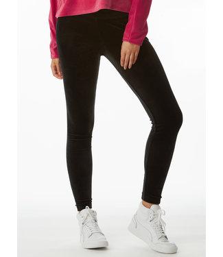 Juicy Couture Black velour legging