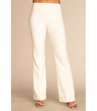 trina turk Winter white Chimayo pant