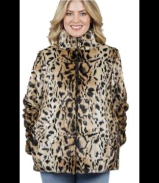 Love Token Reversible Animal Coat