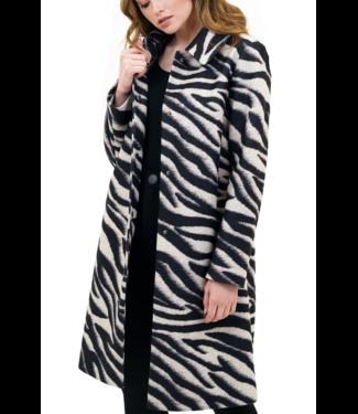 Love Token Zebra Coat