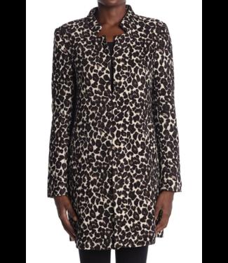 Love Token Leopard 3/4 Length Coat