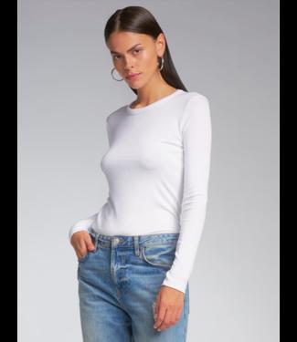 sen Coziest White long Sleeve Pullover