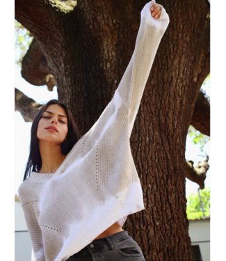 sen Natural 100% cotton sweater