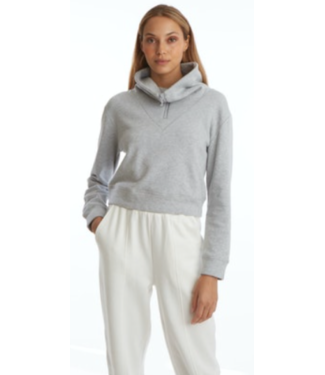 Juicy Couture Grey high collar zip