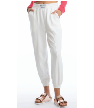 Juicy Couture White pin tucked jogger pant