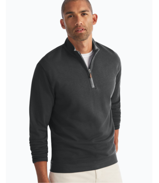 Johnnie O 1/4 Zip Sully Black Pullover