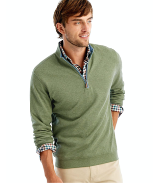 Johnnie O 1/4 Zip Sully Sage Pullover