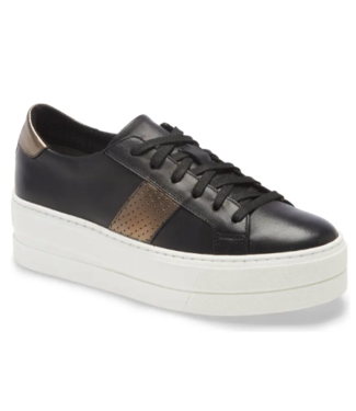 Bos & Co Maison Black Platform Sneaker