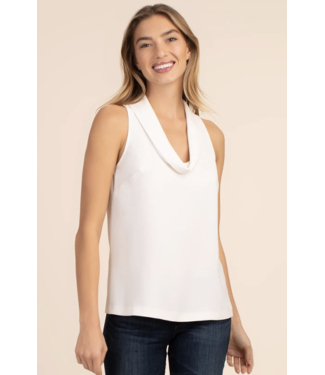 trina turk White Naples Top