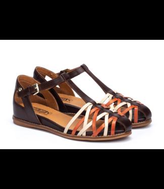 pikolinos Talavera Tri Color Basket Sandal