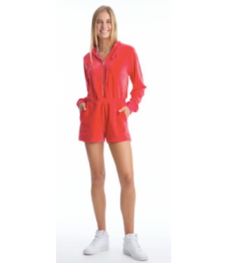 Juicy Couture Bombshell Pink Romper