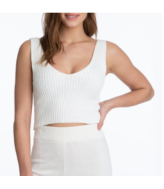 Juicy Couture Cropped Sweater Tank