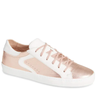Montelliana Jenny Rose Gold Leather Sneaker