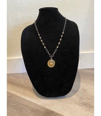 Lula 'n' Lee Pyrite Chain Necklace w/ Pendants