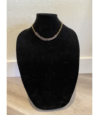 Lula 'n' Lee Two Tone Chain Necklace