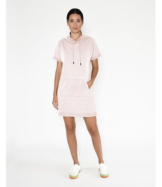 nicole miller Blush Hoodie T Shirt Dress
