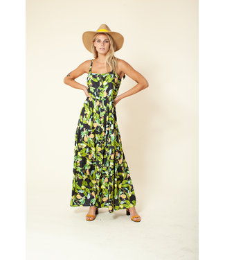 hale Bob Citrus Maxi Summer Dress
